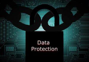 cadeado de dados pessoais